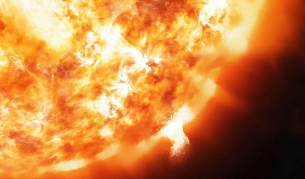 Термоядерная реакция на Солнце